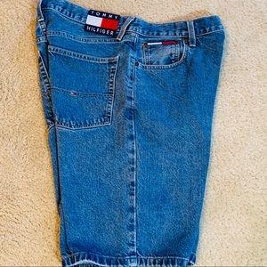 Tommy Hilfiger Blue Jean Shorts Size 34